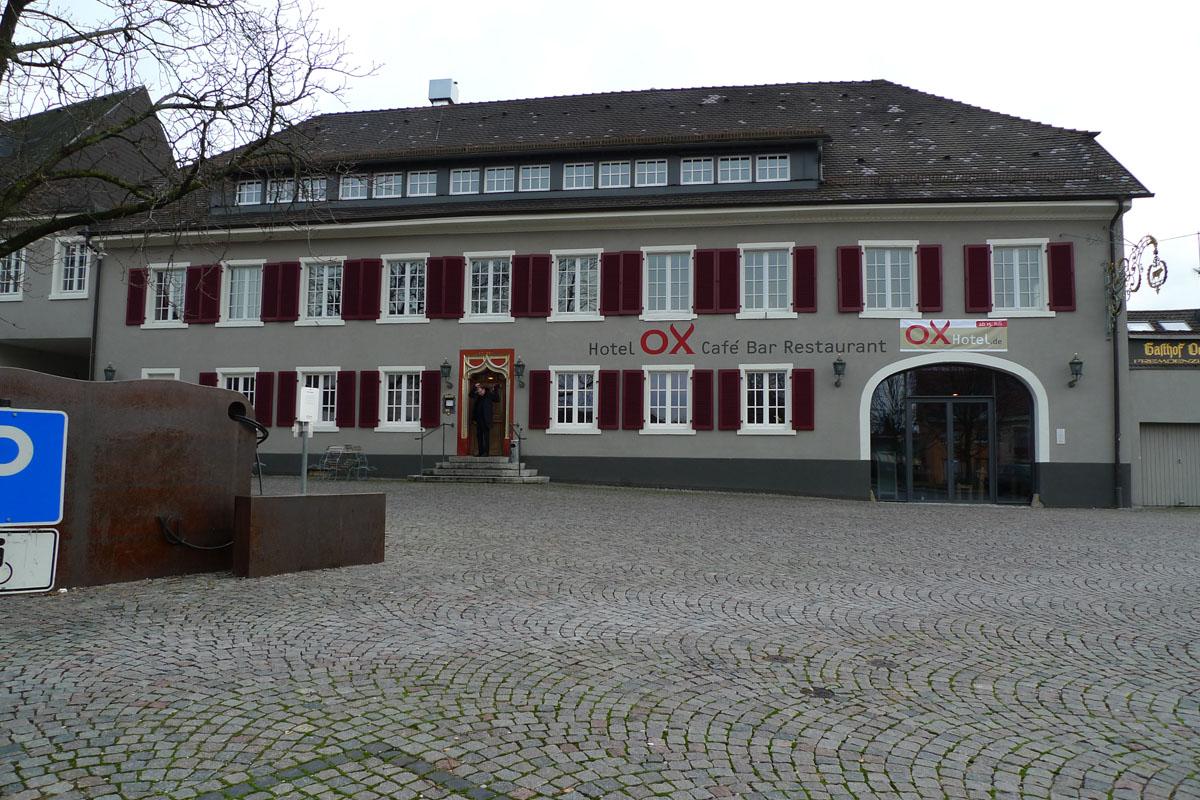 Heitersheim ox hotel 2cc for Designhotel elsass
